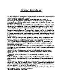 romeo and juliet essay quotes  college paper serviceromeo and juliet essay quotes