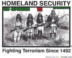 SELF -DEPORTATION... - native america Meme Generator Captionator via Relatably.com