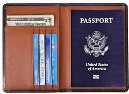 E Smdoxi Passport Holder Cover Travel <b>Wallet Case</b> Genuine ...