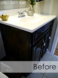 how to paint a small bathroom guest bathroom vanity v   middot painted bathroom vanity vanity makeover ideas days