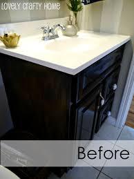 how to paint a small bathroom guest bathroom vanity v   middot painted bathroom vanity vanity makeover ideas days