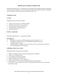 arts resume s art lewesmr sample resume culinary arts resume of hospitality skills