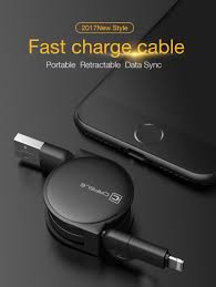 <b>CAFELE</b> 3 Style <b>100cm</b> retractable USB fast charging Cable For ...