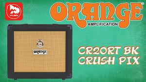 <b>ORANGE</b> CR20RT BK Crush Pix - <b>гитарный комбо</b> для домашних ...
