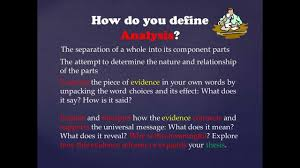 use evidence and analysis to support a thesis use evidence and analysis to support a thesis