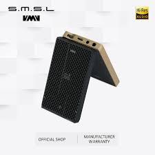 Портативный <b>усилитель для наушников SMSL</b> IQ, DSD512 PCM ...