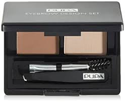 Pupa Eyebrow Design Set - Professional Eyebrow Kit ... - Amazon.com