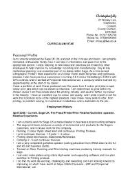 christopher jelly litho printing cv