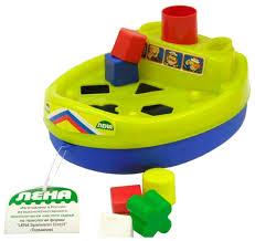 <b>Каталка</b>-игрушка ЛЕНА Кораблик (65630) — <b>Каталки</b> и качалки ...