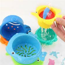 <b>6 Pcs</b>/<b>set</b> Plastic Cartoon <b>Float Water Baby</b> Kids Bath Funny Game ...