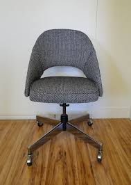reserved for loveluxe mid century modern knoll saarinen executive mid century modern office chair chair mid century office