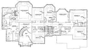 duplex plan d   exclusively customized house plans  let us draw    floor plans saddle river
