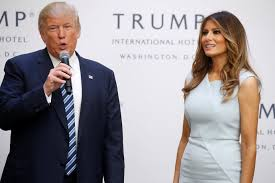 Image result for melania trump and donald trump