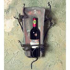 iron wall cross love: pictured here is the wrought iron tile wall wine holder  bottle