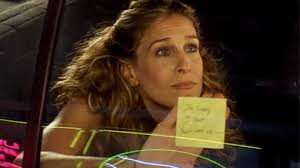 Image result for carrie bradshaw hand up