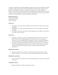 dental assistant resume sample entry level cipanewsletter dental assistant resume s dental lewesmr