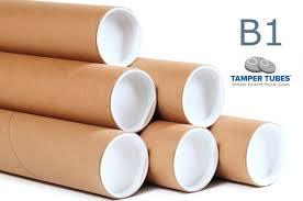 stock tamper resistant postal tube b1 cardboard tubes