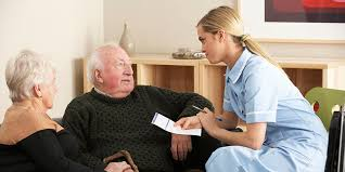 RCN responds to report on district nursing   News   Royal College     A district nurse at work
