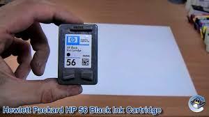 Inside <b>HP 56</b> (C6656A) Black Ink Cartridge - YouTube