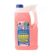 <b>Жидкость незамерзающая HI</b>-<b>GEAR</b> RADAR -17° 5 л