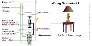 how to wire a switched outlet with wiring diagramsswitched outlet wiring diagram