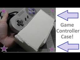 How To Make A <b>Game Controller Case</b>! - YouTube