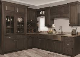 Grey Stained Kitchen Cabinets In Stock Rta Ready To Assemble Grey Stain Kitchen Cabinets
