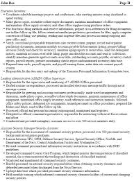 federal security assistant resume example   download sample resumeprofessionally written federal security assistant resume example  pdf
