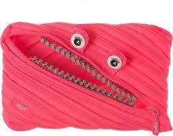 <b>Zipit Пенал</b> Grillz Jumbo Pouch цвет розовый — купить в ...