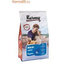 <b>Сухой корм Karmy Maxi</b> Junior для щенков крупных пород с ...