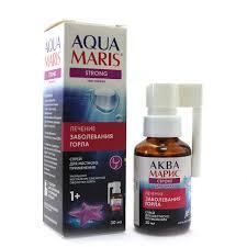 Купить <b>Аква Марис Стронг</b> для горла <b>спрей</b> для местного ...