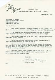 this i believe documents murrow collection letter from philip bayes offering financial support to continue this i believe and reply
