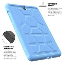 <b>10pcs</b>/<b>lot For Samsung Galaxy</b> Tab A 9.7 | [Anti-Slip] Blue Silicone ...