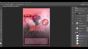 how to design a flyer poster photoshop how to design a flyer poster photoshop