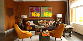 Modern Paint Colors For Living Rooms Shades Of Orange Best Orange Paint Colors