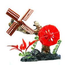 Aquarium Waterwheel Windmill Bubbles <b>10cm</b>- air <b>stone</b> Ornament ...