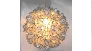 enchanting capiz shell chandelier for modern bedroom design capiz shell lighting fixtures