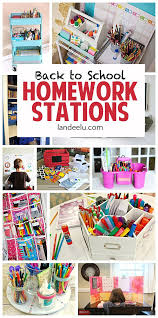 ideas about going back to school on pinterest  back to  diy back to school homework station ideas   i love these ideas to get the kids
