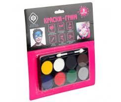 <b>Краски</b> для лица — купить в Москве <b>краски</b> для кожи в ...