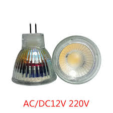 <b>Mini</b> MR11 <b>COB</b> led 220V led bulb 110V <b>5W</b> 35mm led spotlight ...