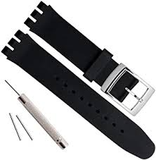 Rubber - Watch Straps / Men: Watches - Amazon.co.uk