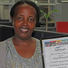 Fatma Mohamed. Auburn's Local Citizen of the Year for 2012. (Karen Michelmore - ABC Local) - r885054_8813628