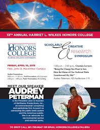 homepage florida atlantic university honors college flyer
