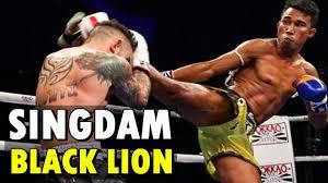 Singdam Kiatmoo9 - Black <b>Lion</b> (Muay <b>Thai</b> Highlights) - YouTube