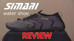 Simari <b>Water Shoe</b> Review - YouTube