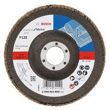 <b>Круг лепестковый торцевой Bosch</b> 125x22 Standard for Metal ...