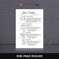 resume template for word theme josie elegant look in white resume template for word theme josie elegant look in white