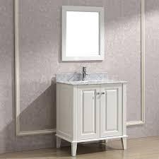 30 white bathroom vanity