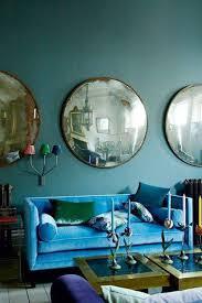 color trends fresh jewel tone living room