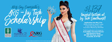 news matthew clinic miss gay evansville arg ivy tech scholorship